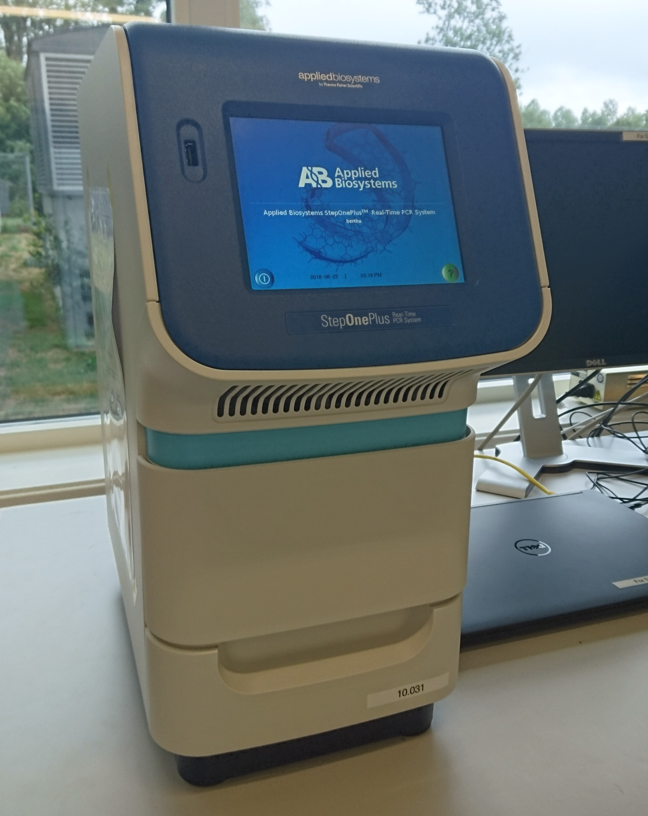 Picture of StepOnePlus real-time PCR