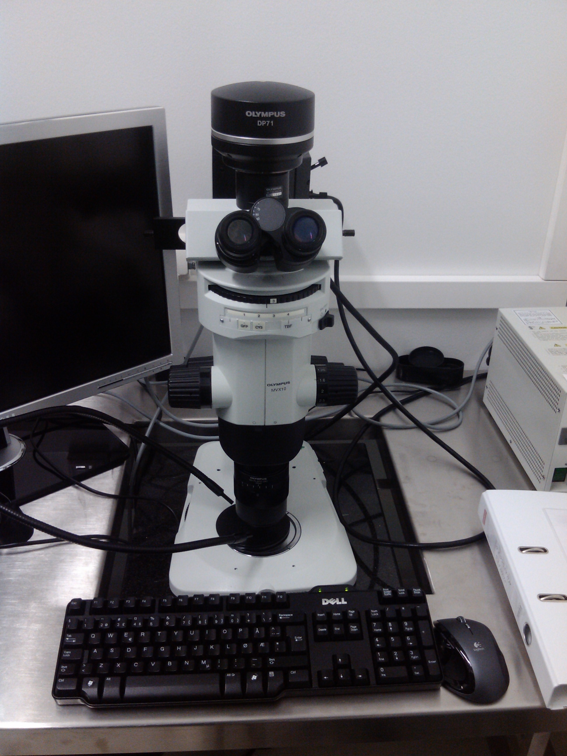 Picture of Optical Microscope Olympus MVX10