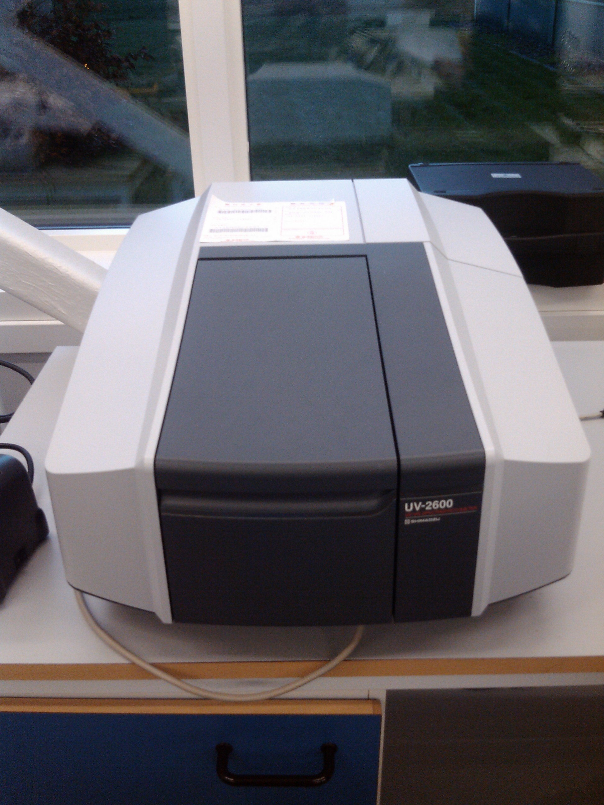 Picture of UV Photospectrometer, Shimadzu