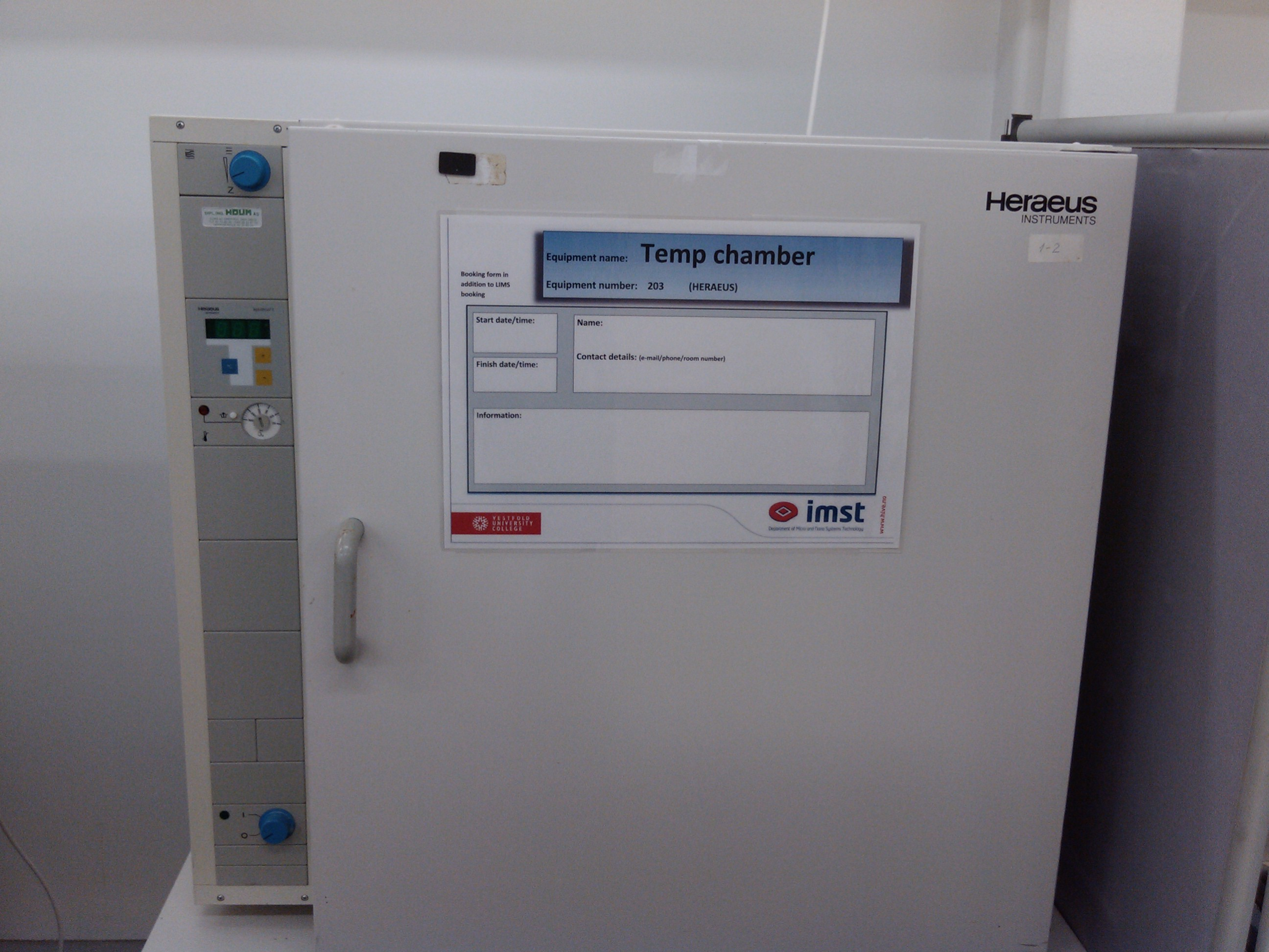 Picture of Thermal Chamber Heraeus T6200